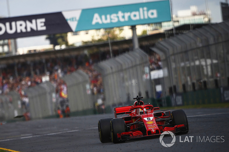GP de Australia: Sebastian Vettel