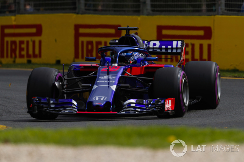 15. Brendon Hartley, Toro Rosso STR13