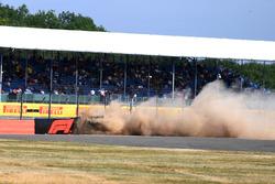 Crash of Brendon Hartley, Scuderia Toro Rosso STR13