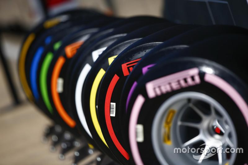 Pneumatici Pirelli distinti per colore