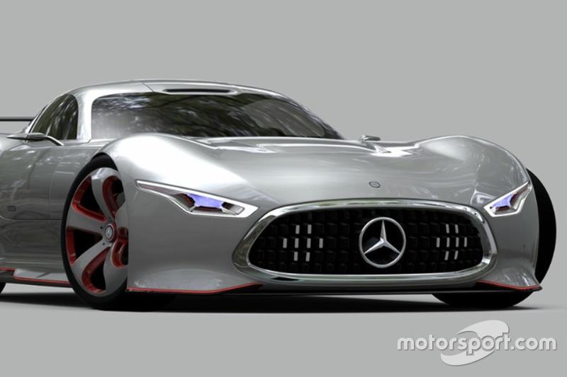 1. Mercedes-Benz AMG Vision Gran Turismo (noviembre 2013)