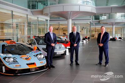 Annonce McLaren/Gulf