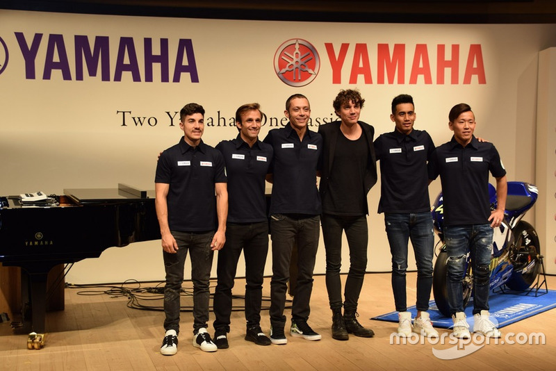 Evento de los pilotos de Yamaha