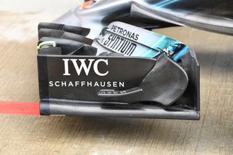 Mercedes-AMG F1 W09, dettaglio dell'ala anteriore