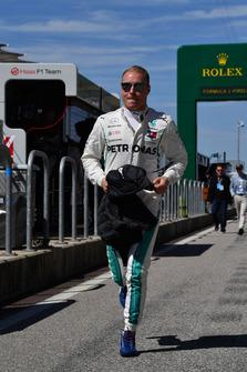 Valtteri Bottas, Mercedes AMG F1 runs
