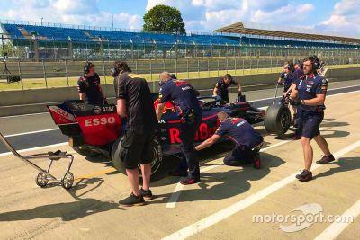 Pirelli Test Silverstone