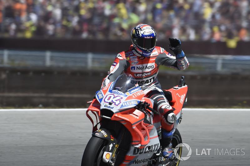 Podio: Andrea Dovizioso, Ducati Team