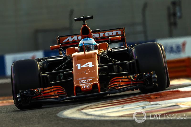 Гран При Абу-Даби: Алонсо прозрачно намекнул, что в следующем сезоне рассчитывает побеждать