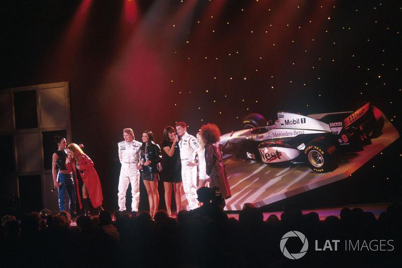 Самая помпезная: McLaren и Spice Girls в мегашоу в Лондоне (1997)