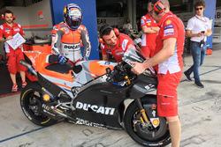 Andrea Dovizioso, Ducati Team avec un nouveau carénage