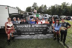 Honda Pirates of Mid-Ohio winners with Blackbeard Jack Harvey, Meyer Shank Racing with SPM Honda