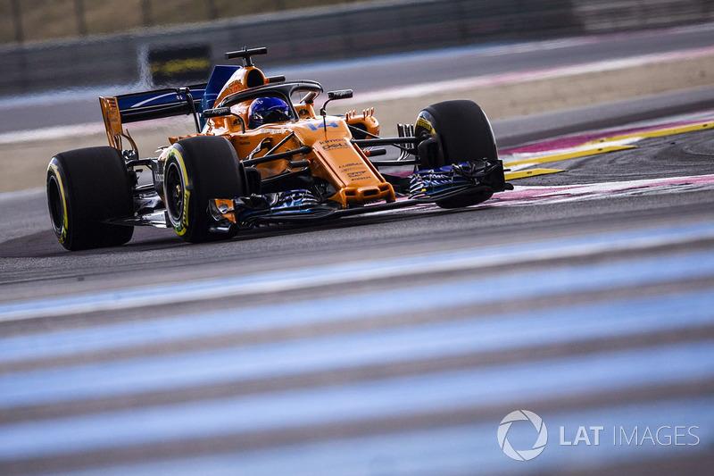 16: Fernando Alonso, McLaren MCL33, 1'32.976