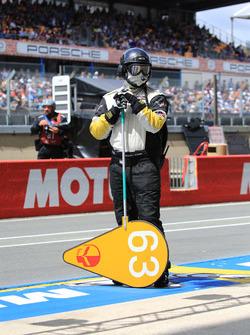 Corvette Racing takım elemanı