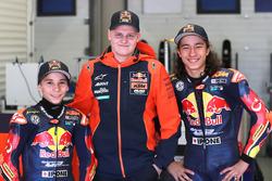 Deniz Öncü and Can Öncü, with Niklas Ajo, Red Bull KTM Ajo