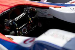 Схема трассы в кокпите автомобиля Mahindra Racing M4Electro