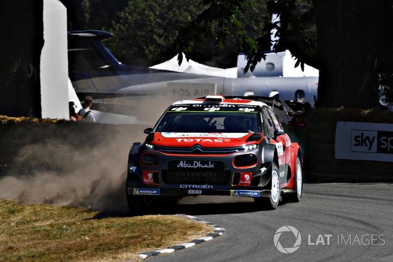 Mads Østberg et sa Citroen C3 WRC