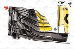 Renault Sport F1 Team R.S. 18 front wing