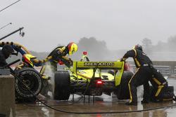 Simon Pagenaud, Team Penske Chevrolet, pitstop