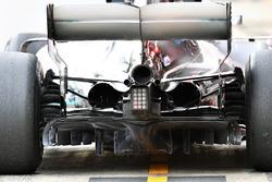 Mercedes-AMG F1 W09, diffusore