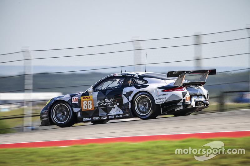 2. GTE-Am: #88 Proton Racing, Porsche 911 RSR: Khaled Al Qubaisi, David Heinemeier Hansson, Kevin Estre