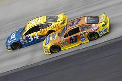 A.J. Allmendinger, JTG Daugherty Racing Chevrolet, Chris Buescher, Front Row Motorsports Ford