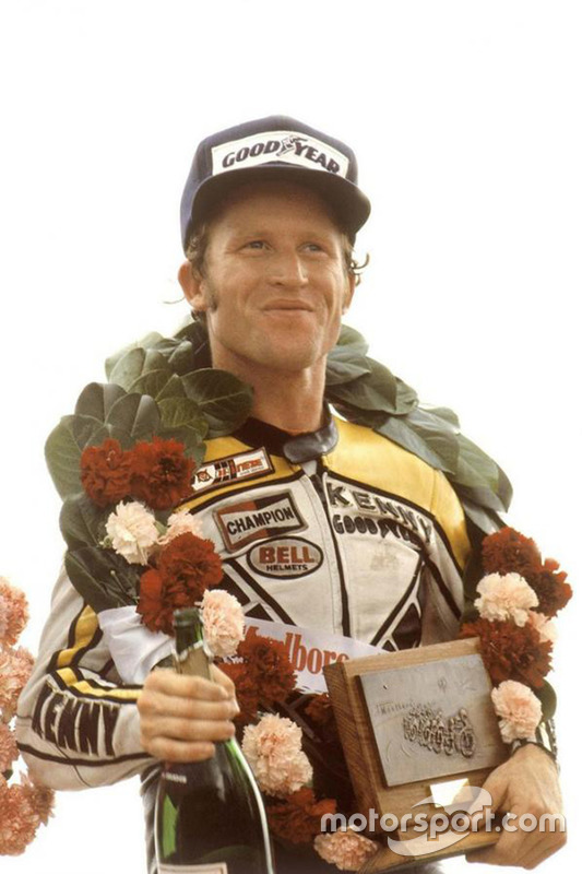 Ganador de la carrera Kenny Roberts Snr, Yamaha