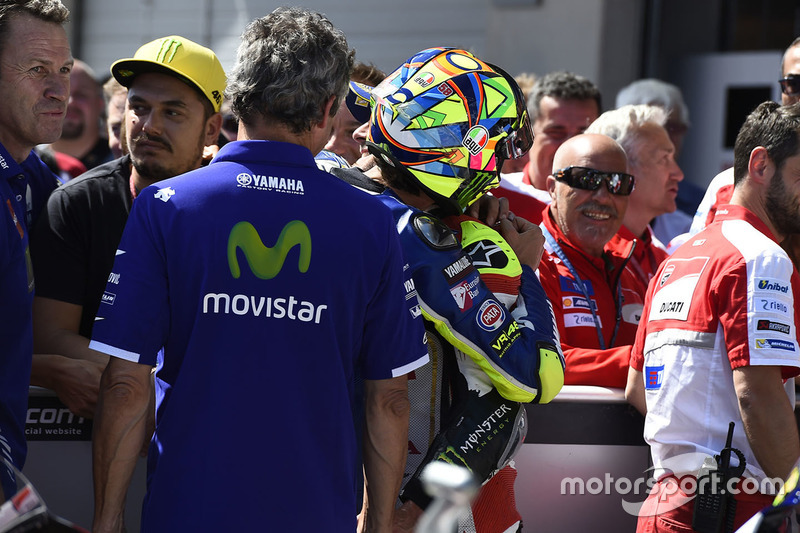 Cal Crutchlow, Team LCR Honda e Valentino Rossi, Yamaha Factory Racing