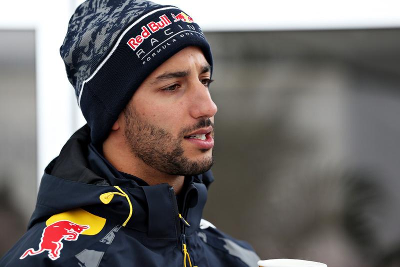 Daniel Ricciardo, Red Bull Racing in the Paddock