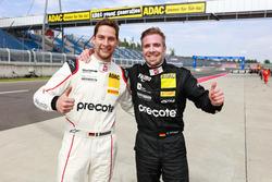Robert Renauer, Precote Herberth Motorsport, und Dominik Schwager, Callaway Competition