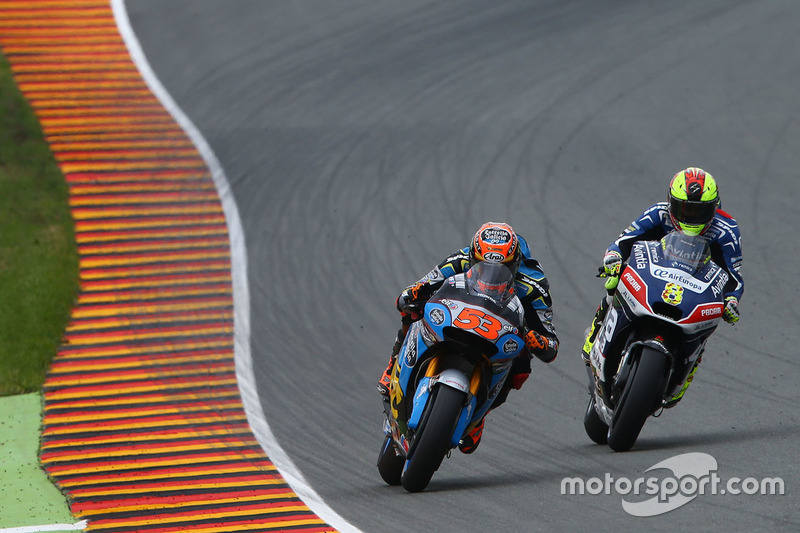 Tito Rabat, Marc VDS Racing, Honda; Hector Barbera, Avintia Racing