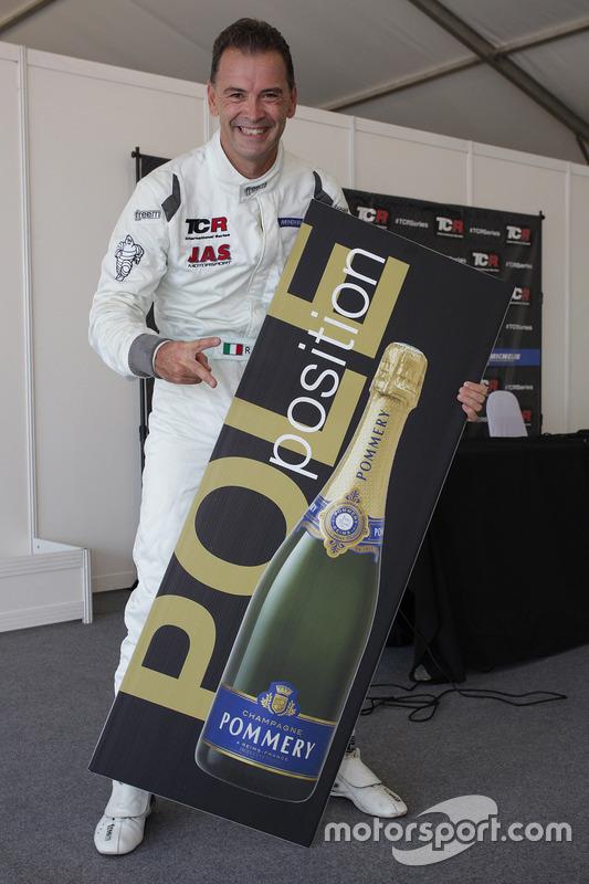 Pole-Postion für Roberto Colciago, Target Competition, Honda Civic TCR