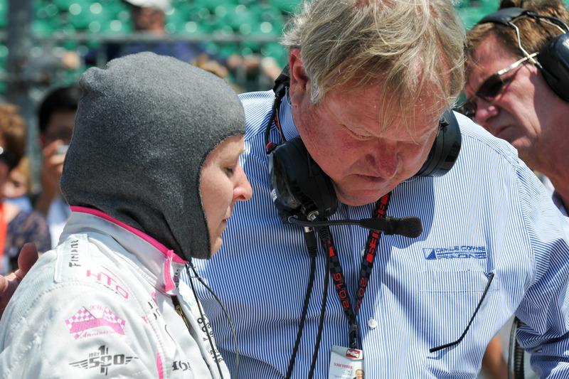 Pippa Mann, Dale Coyne Racing Honda, und Dale Coyne