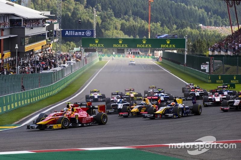 Start: Norman Nato, Racing Engineering