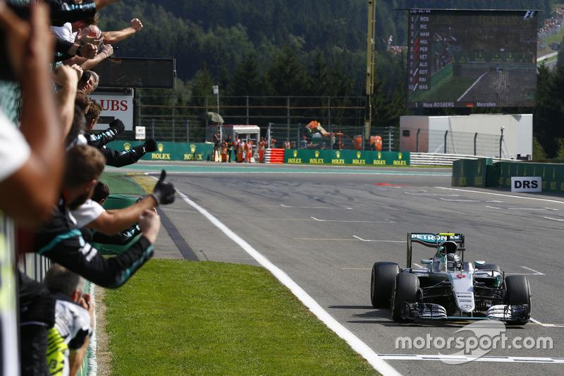 Bélgica: Rosberg vuelve a la carga