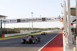 Il vincitore della gara Ivan Bellarosa, Avelon Formula, Wolf GB 08 Evo-CNT