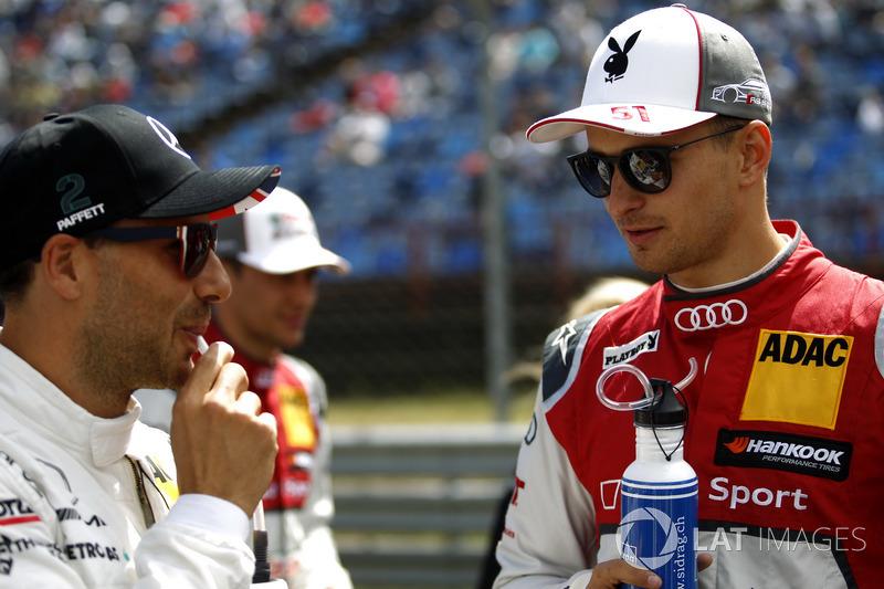 Гері Паффетт, Mercedes-AMG Team HWA, Mercedes-AMG C63 DTM, Ніко Мюллер, Audi Sport Team Abt Sportsline, Audi RS 5 DTM