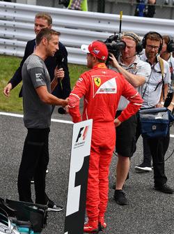 Себастьян Феттель, Ferrari, Дженсон Баттон