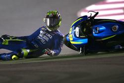 Авария: Андреа Янноне, Team Suzuki MotoGP