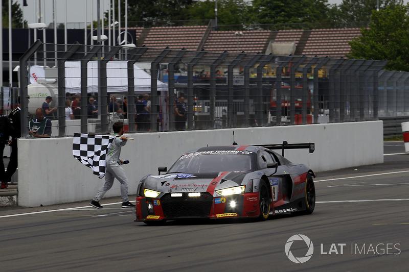 Checkered Flag For Audi Sport Team WRT Audi R LMS Nico Müller - Checkered flag audi