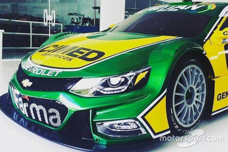 Carro da Cimed para a temporada 2017 da Stock Car