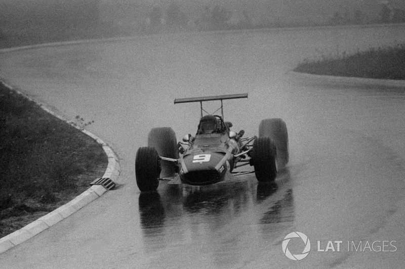 Jacky Ickx, Ferrari, German GP, 1968