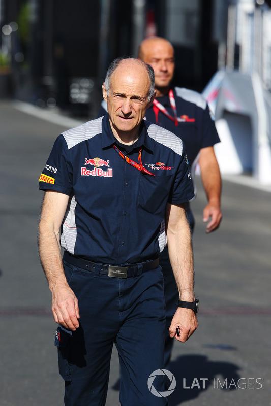 Франц Тост, керівник Scuderia Toro Rosso