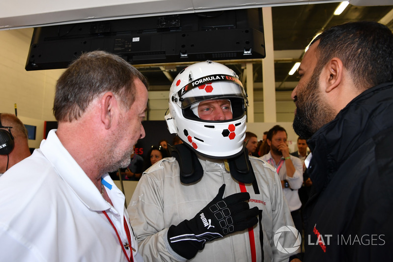 Paul Stoddart, F1 Experiences 2-Seater passenger Woody Harrelson, Actor