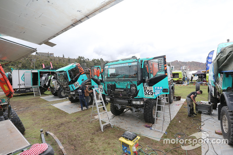 Mechanics of the Team de Rooy
