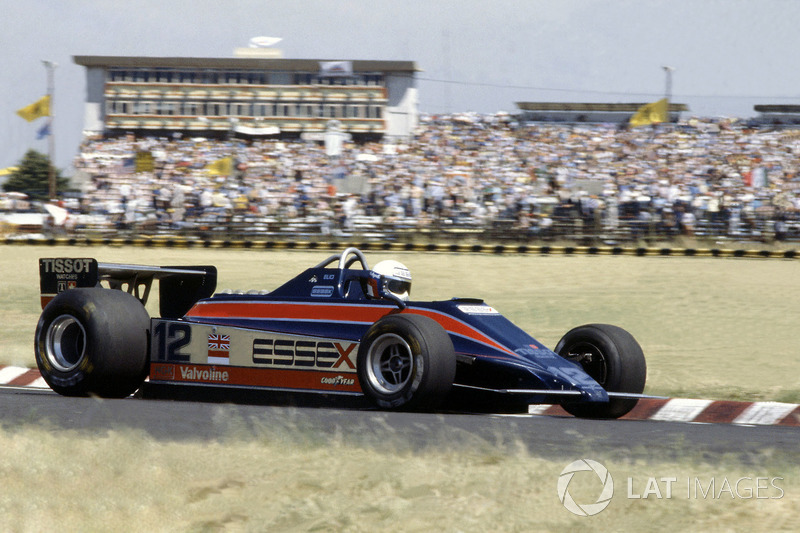 #9: Elio de Angelis, GP Brasilien 1980 (21 Jahre, 307 Tage)