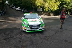 Kristof Klausz, Botond Csanyi, Peugeot 208 R2
