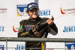Third place Pietro Fittipaldi, Lotus