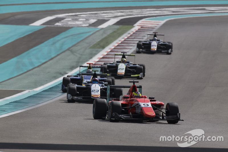 Jake Dennis, Arden International y Steijn Schothorst, Campos Racing