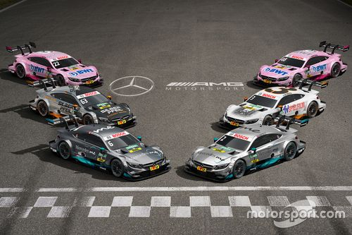 Mercedes-AMG C63 DTM 2017-es bemutató