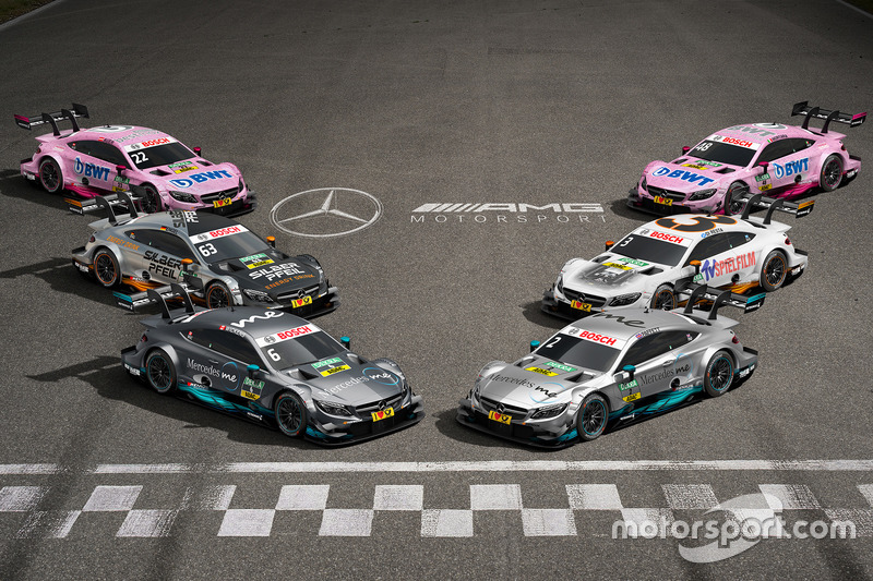 All 2017 Mercedes-Benz DTM cars